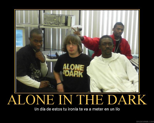 alone int the dark