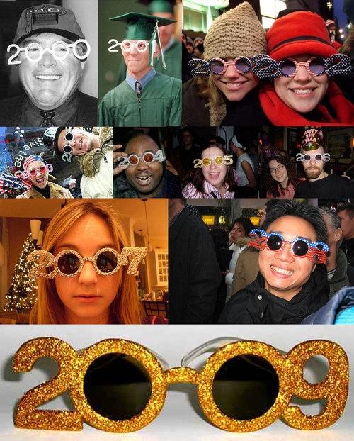 gafas año nuevo