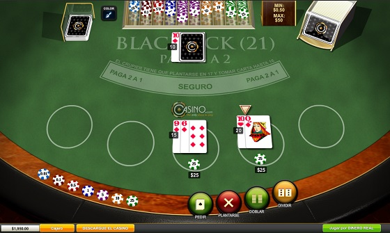 blackjack ejemplo