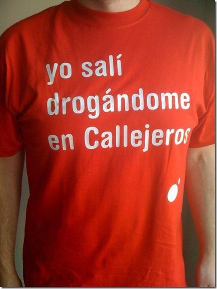 camiseta callejeros