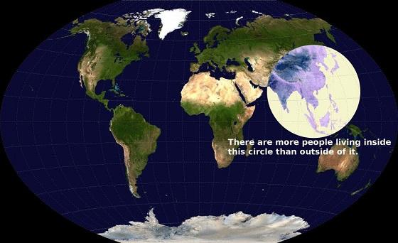 poblacion en el mundo