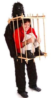 disfraz gorila