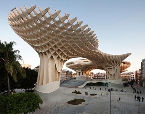 estructura madera grande