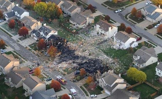 explosion gas casa