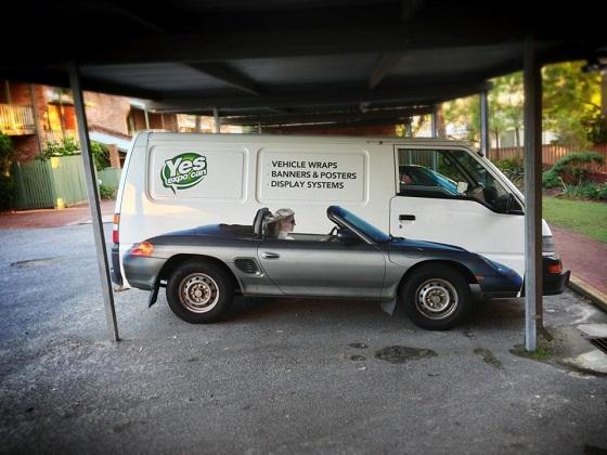 furgoneta pintada original