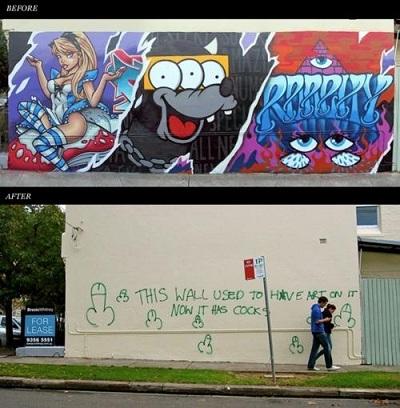 graffiti borrado