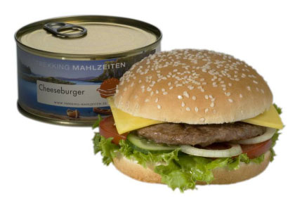 hamburguesa en lata