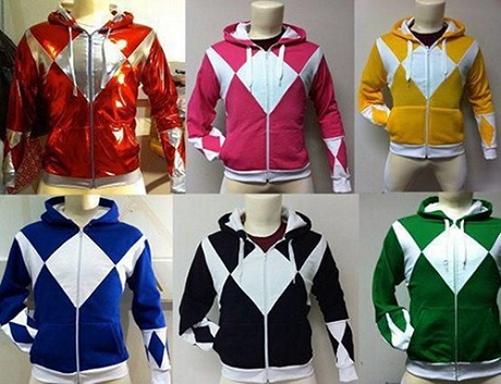 sudadera power rangers