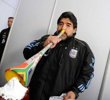 maradona vuvuzela